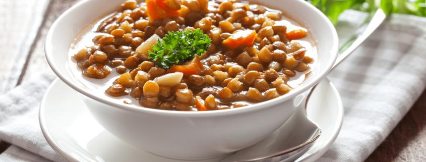 Recetas healthy con legumbres